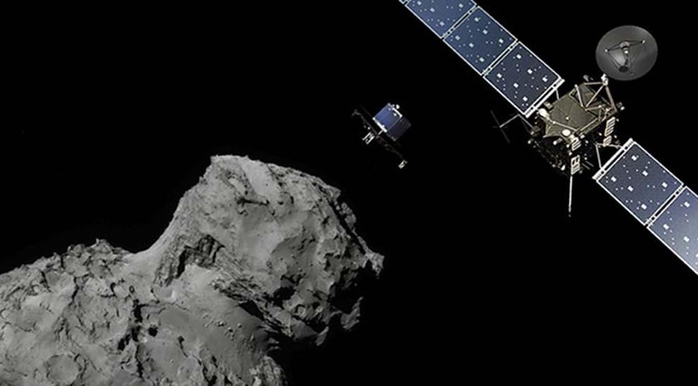 Misión-Rosetta-nave-en-órbita-UNAMGlobal