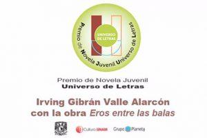 Premio-novela-juvenil-Eros-entre-las-balas-UNAMGlobal