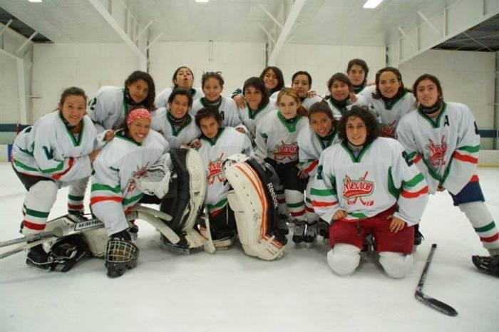 Seleccionada-Hockey-sobre-hielo-UNAMGlobal
