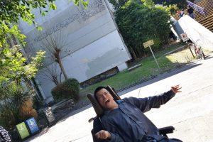 Matías-Alaniz-primer profesor-con-discapacidad-motriz-en-la-UNAM-UNAMGlobalR