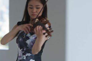 """Sayaka-Shoji-""""Concierto-para-violín""""-de-Brahms-UNAMGlobal"""