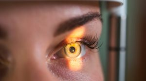 Research-and-scanning-eye, close-up photos, retinal diagnostics in ophthalmology-UNAMGlobal