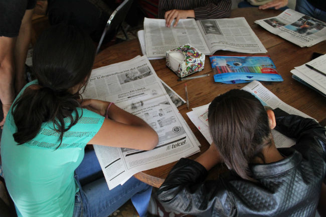 periodismo-infantil-talleres-fotografía-redacción-Zazamitohac-UNAMGlobal