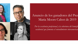 premio-Maria-Moors-periodista-mexicana-UNAMGlobal