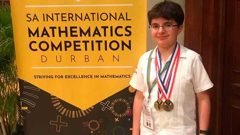 niños-genio-oro-matemáticas-certamen-UNAMGlobal