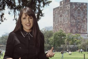 Luisa-escritores-FILUNI-México-Argentina-TVUNAM-UNAMGlobal