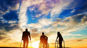 Three-disabled-people-at-the-sunset-UNAMGlobal