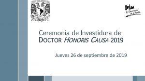 ceremonia-doctorado-honoris-causa-2019-retransmisión-UNAMGlobal